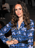 Louise Roe at Richard Chai Spring 2014.