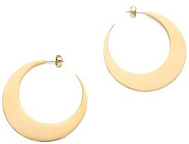 Rebecca minkoff Flat Hoop Earrings