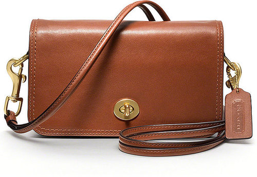 Coach Legacy Leather Penny Shoulder Purse