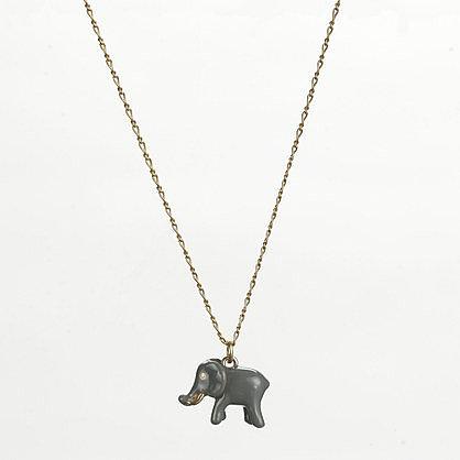 Factory enamel critter charm necklace