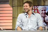 Bradley Cooper was all smiles on El Hormiguero.