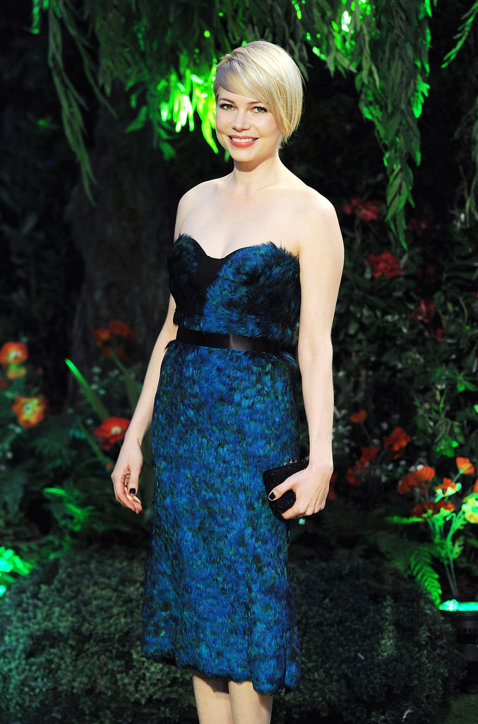 Michelle Williams stepped out at the UK premiere of Oz the Great and Powerful in February 2012.