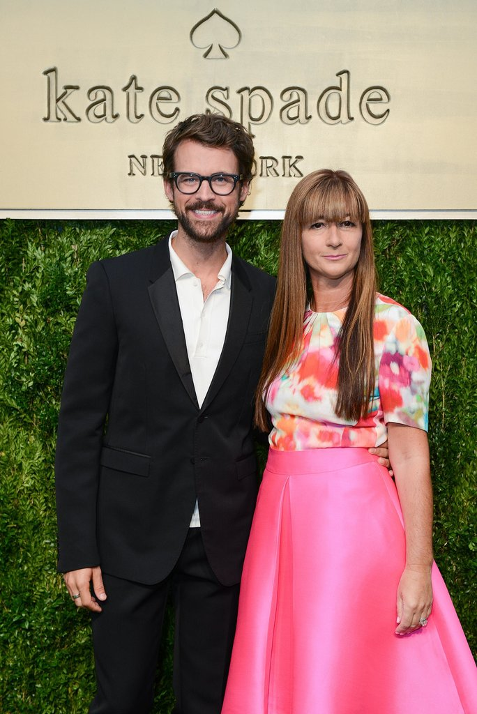 Brad Goreski and Deborah Lloyd presented the Kate Spade New York collection to the eager crowd.