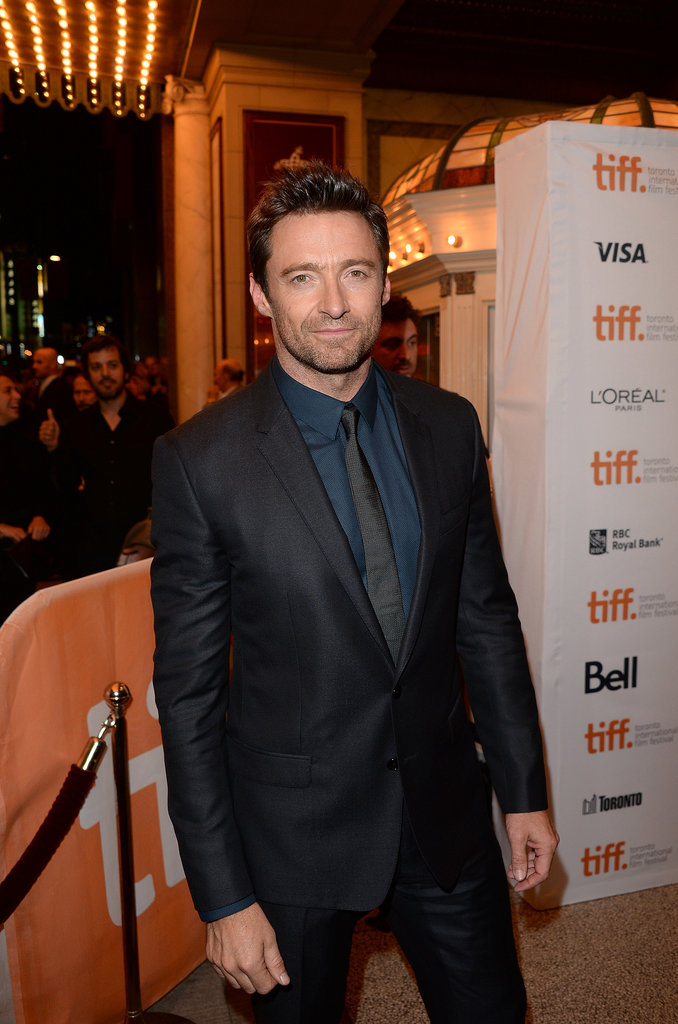 Hugh Jackman attended the Prisoners premiere.