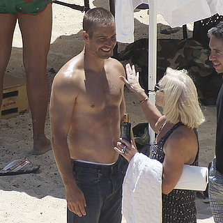 Paul Walker Shirtless in Hawaii | Pictures