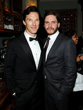 Benedict Cumberbatch and Daniel Brühl attended an afterparty for The Fifth Estate.
