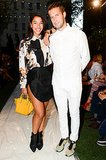 Hannah Bronfman showed some leg while attending the StyleList runway show with Brendan Fallis.