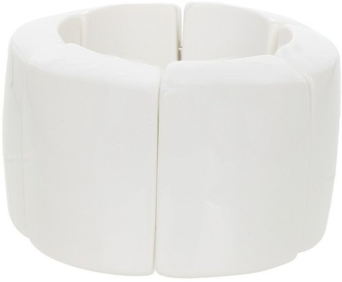 Kenneth Jay Lane - 8825BW (White) - Jewelry