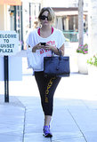 Starlet Ashley Benson wore her love for SoulCycle loud and proud!