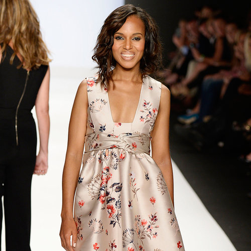 Kerry Washington Walks in New York Fashion Week