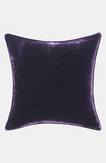 Who says velvet is too plush for a cabin? Play it up in small doses with these beautiful purple velvet pillows ($50) that will feel oh-so cozy.