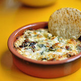 Mushroom and Goat Cheese Queso