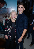 Zac Efron got close to his co-star Jacki Weaver.