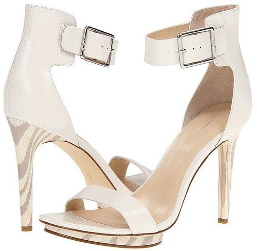 Calvin Klein - Vivian (Antique White/ Ash Grey Calf/Zebra) - Footwear