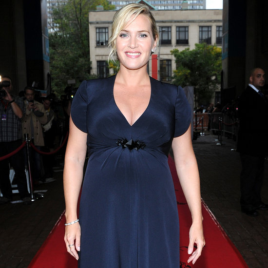 Pictures of Kate Winslet Pregnant at Toronto Film Festival