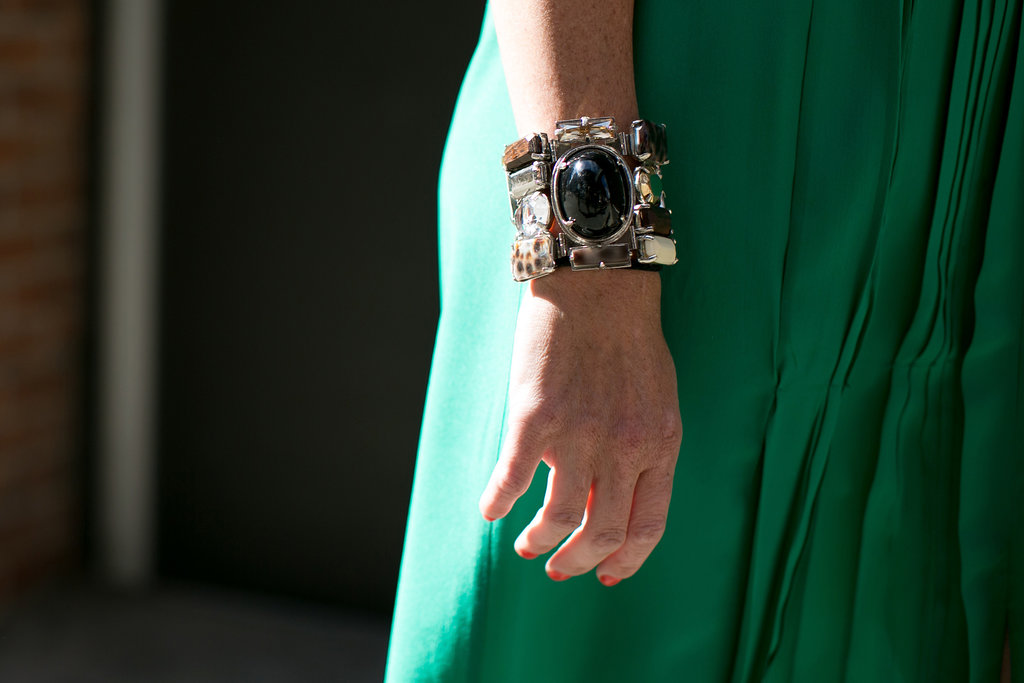 A bit of arm candy.