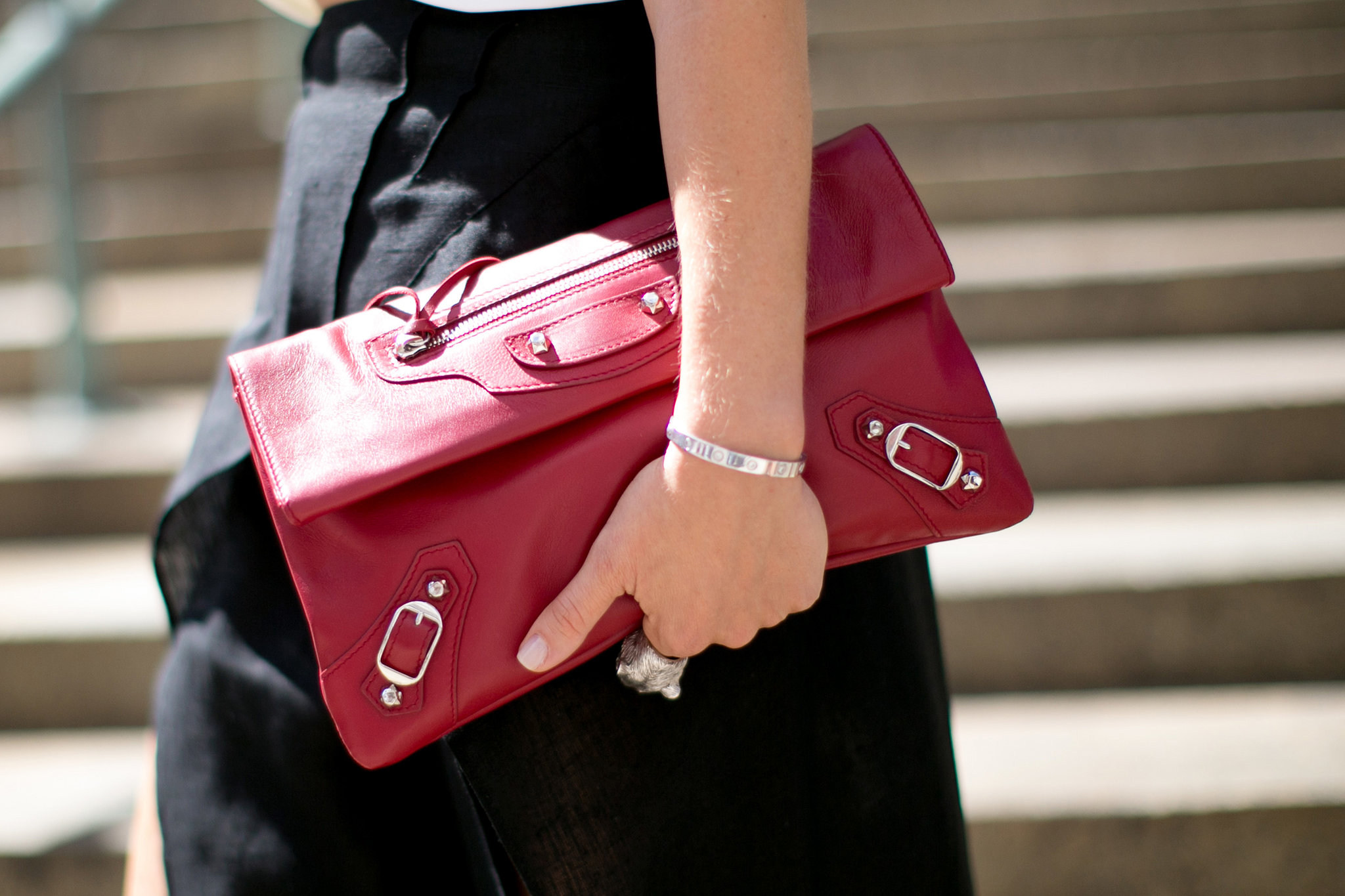 Keep calm and carry on in style with Balenciaga.