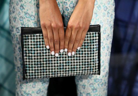 Charlotte Ronson Spring 2014 nails