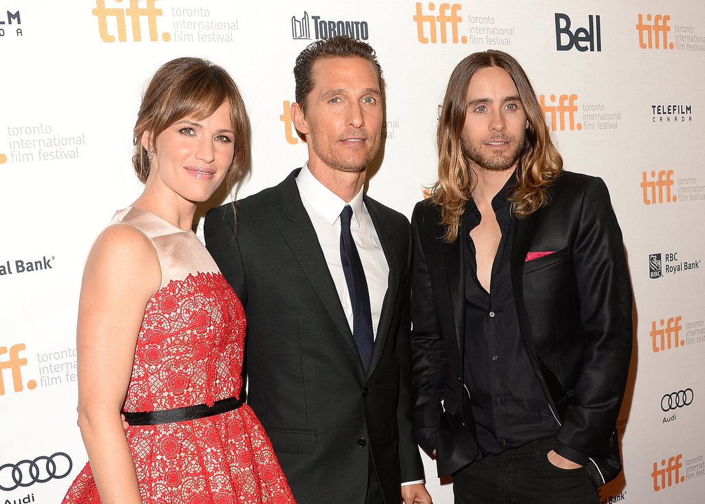 Matthew and Camila Join Jen and Jared on the Dallas Buyers Club Red Carpet