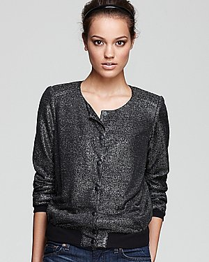 GUESS Jacket - Metallic Bomber