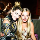 Chelsea Leyland and Kate Foley took a seat while at Svedka's afterparty for Suno.