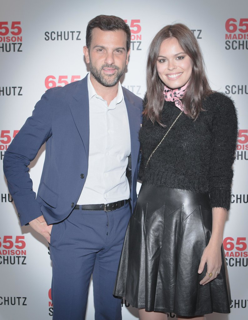 Alexandre Birman and Atlanta de Cadenet Taylor joined in the festivities at the Schutz anniversary party.