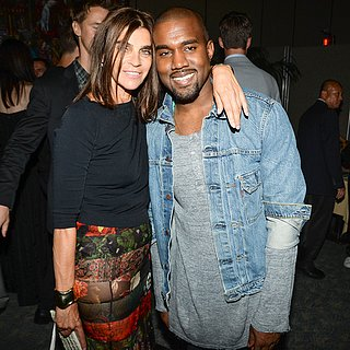 Kanye West at the Mademoiselle C Afterparty