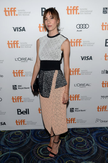 Gia Coppola looked lovely in Proenza Schouler at the Toronto International Film Festival.