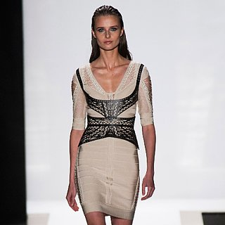 Herve Leger Spring 2014 Runway Show | NY Fashion Week