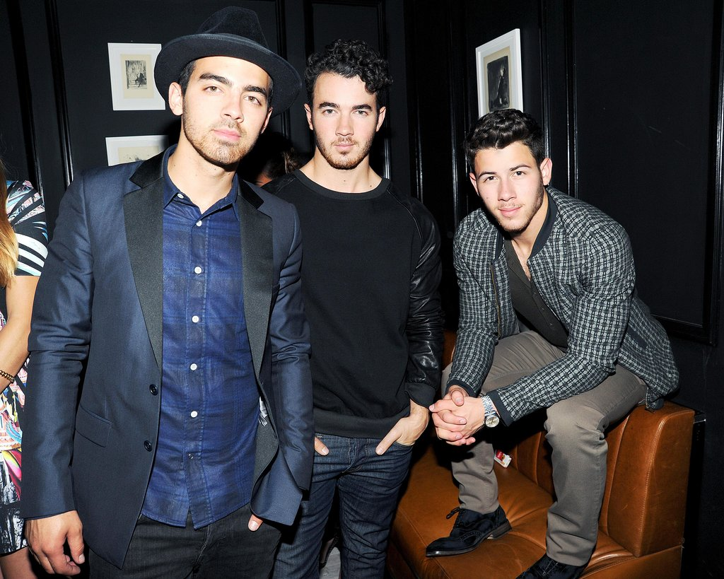 The Jonas Brothers were dapper as always at the Prabal Gurung party.