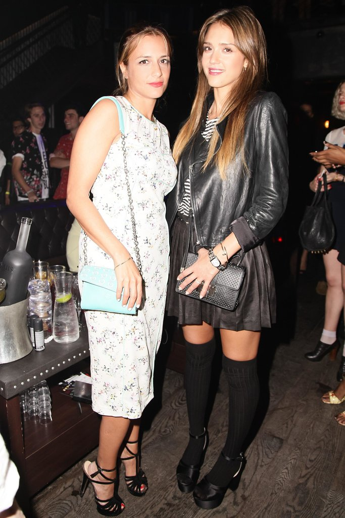 Jessica Alba and Charlotte Ronson were ready to celebrate the Spring 2014 collection at the designer's afterparty.