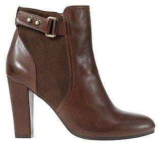 Sloane Leather Booties