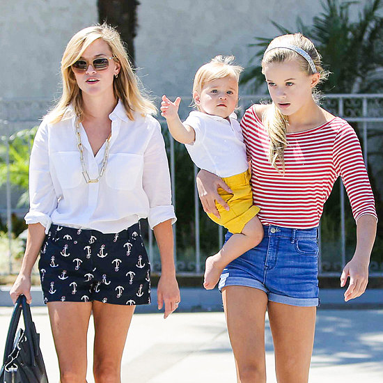 Reese Witherspoon in LA With Kids Tennessee and Ava