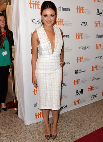 Mila Kunis struck a pose at the Third Person premiere.