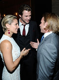 Chris Hemsworth and Elsa Pataky spoke to Tom Hunt, the son of the man Chris plays in Rush.