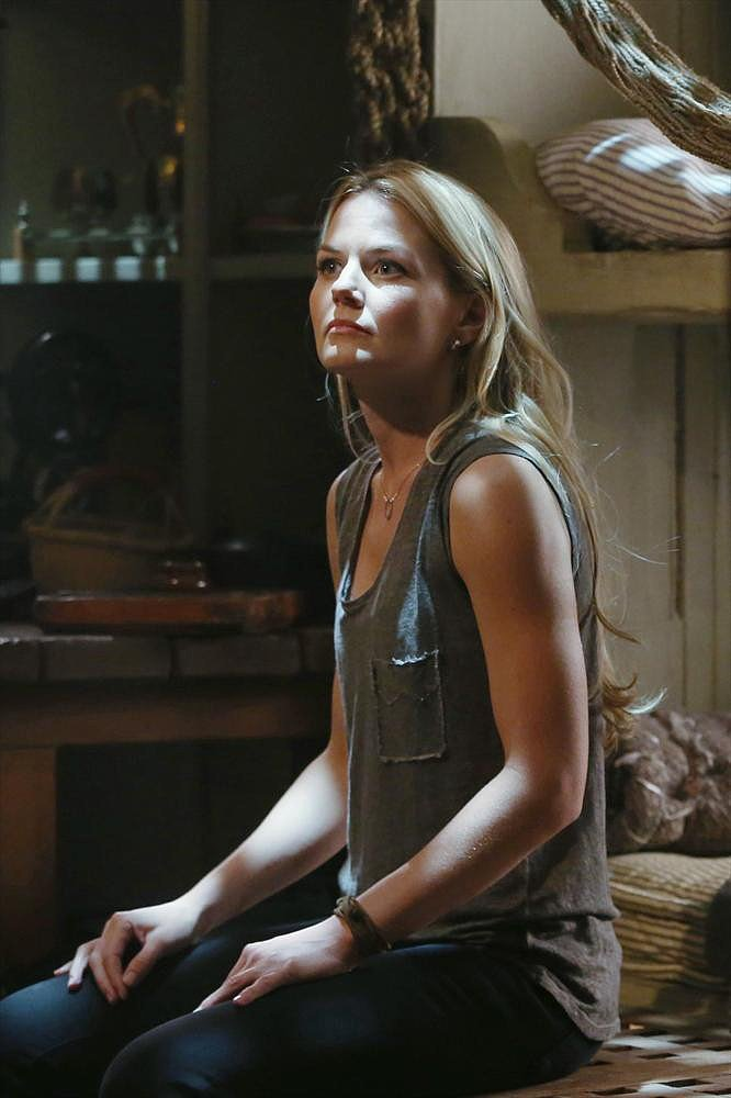 Once Upon a Time Jennifer Morrison on Once Upon a Time.