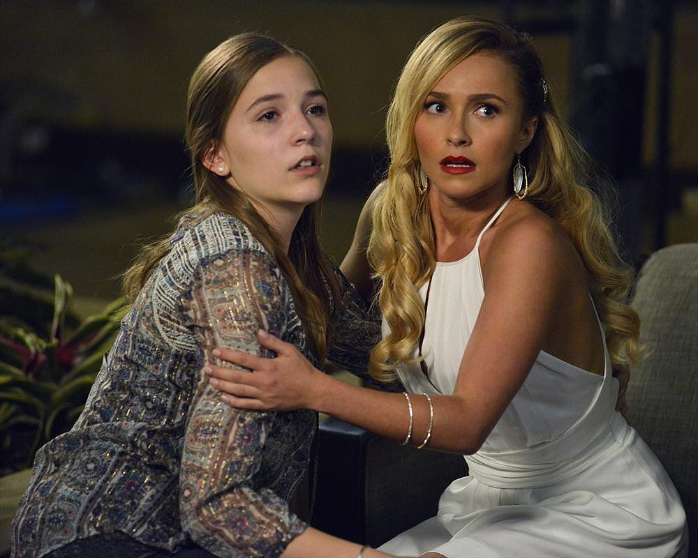 Lennon Stella and Hayden Panettiere on the season premiere of Nashville.