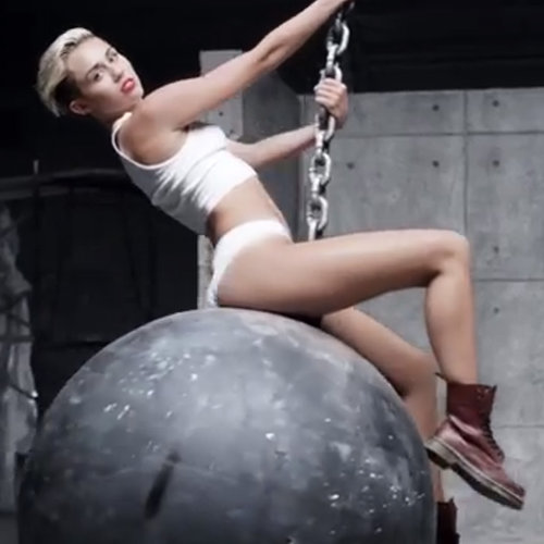 "Miley Cyrus ""Wrecking Ball"" Music Video"