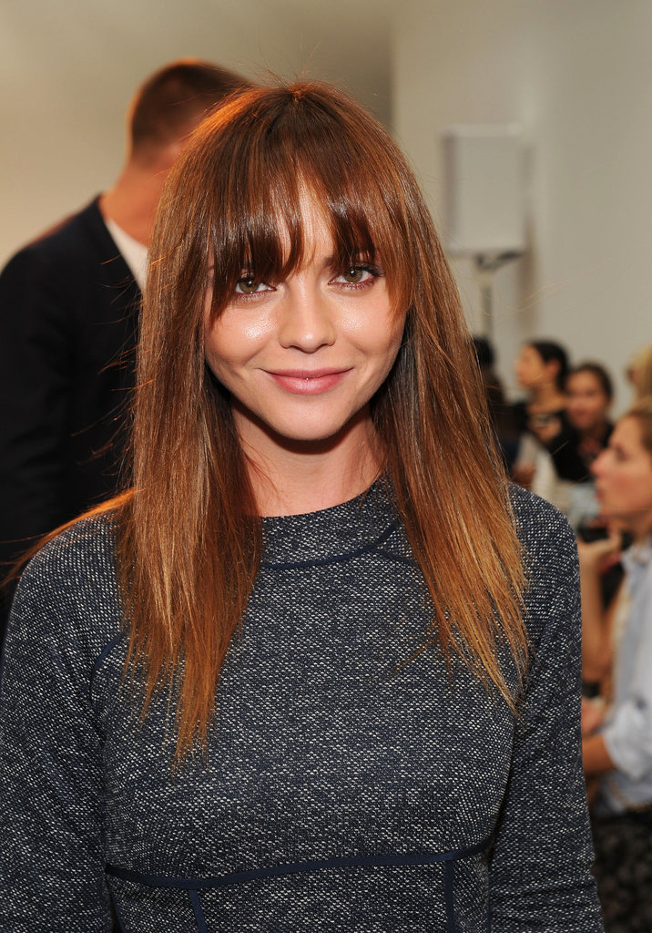 Christina Ricci at Thakoon Spring 2014.