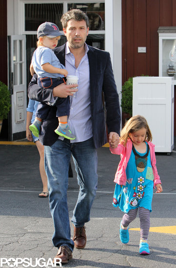 Ben Affleck took his two youngest kids, Seraphina and Samuel, to breakfast.