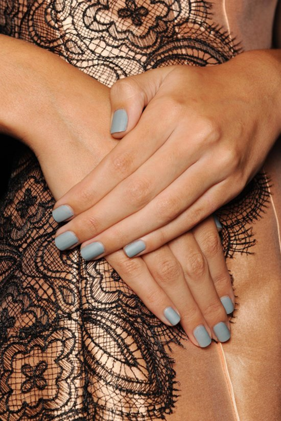 Lela Rose Spring 2014 nails