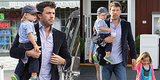 Ben Affleck Suits Up For Daddy Duty as Jennifer Garner Heads Home