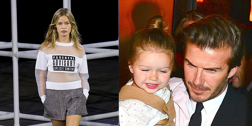 David Brings Harper to Victoria's Show and More of NYFW's Buzziest Moments