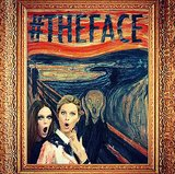 Coco and Karolina Kurkova's faces gave Edvard Munch's a run for its money. Source: Instagram user cocorocha