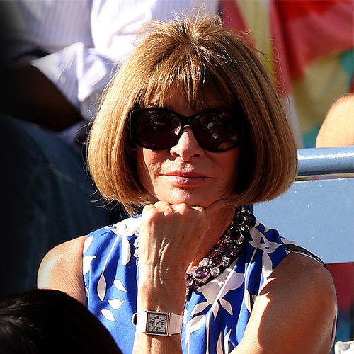 How Celebs Glam Up the US Open