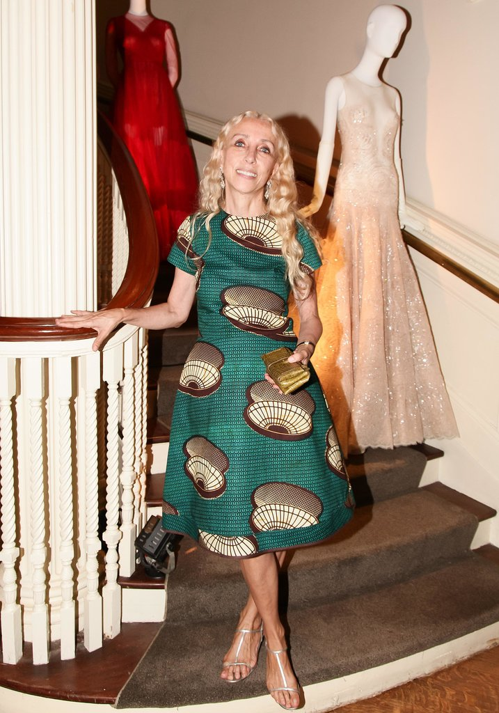 Franca Sozzani hosted the Italian Style: 8 Short Videos X 8 Long Stories opening in New York.