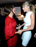 Julia Roberts and Taylor Swift shared a laugh at the afterparty.