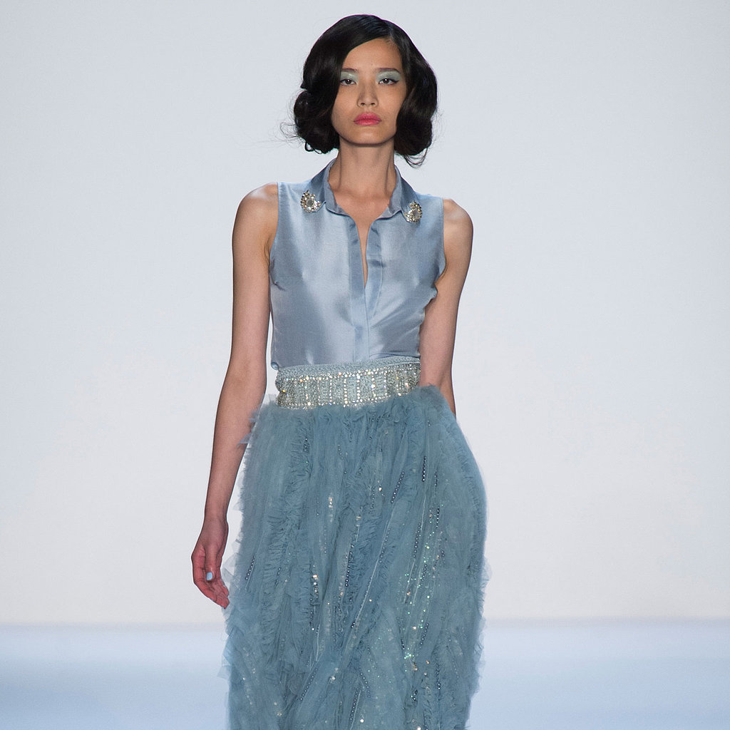 The Most Glamorous Looks From the Badgley Mischka Spring 2014 Runway