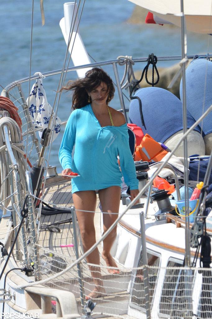 Penélope Cruz Brings Her Hot Bikini Body and New Baby to the Beach!