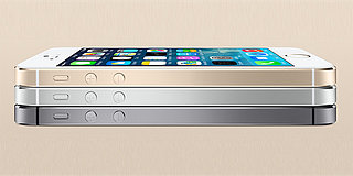 The iPhone 5S: A Gilded, Fingerprint-Scanning Phone
